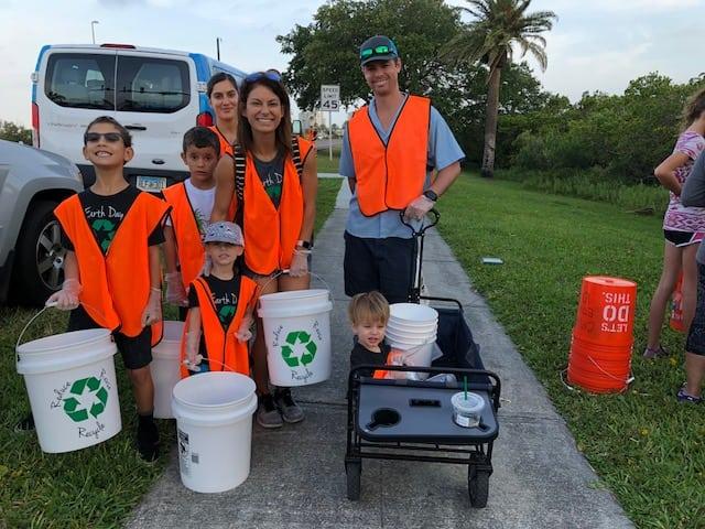 coastal cleanup family