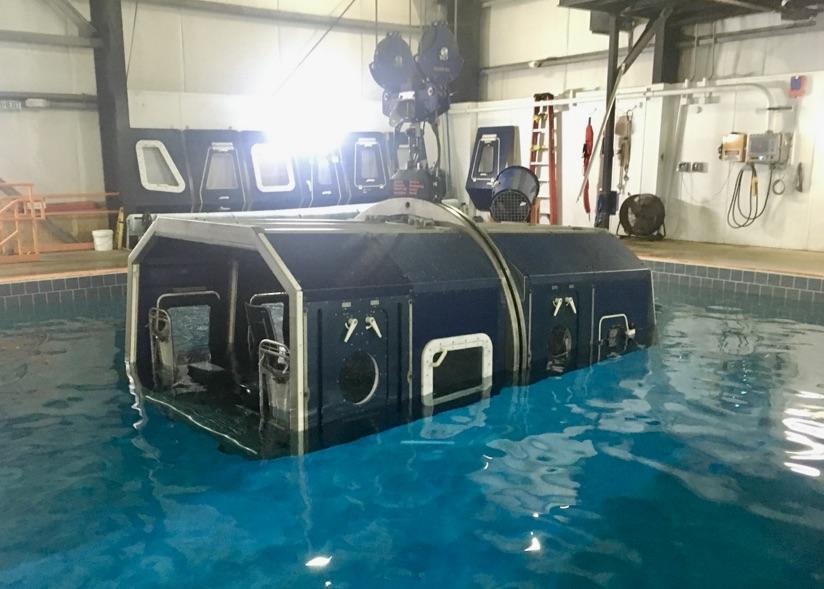 escape training simulator
